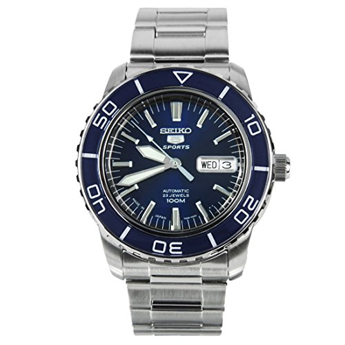 Seiko 5 Sports Automatic Made in Japan Diver Armbanduhr [snzh53j1]