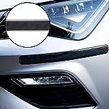 Autodomy Protection Bumper Pare Choc Avant et Arrière Protection Rayures Pack de 2 Unités pour la Voiture Couleur (Carbone)
