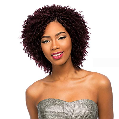 MULTI-PACK DEALS! Sensationnel Remy Human Hair Crochet Braids Select Tiana Loop 2Pcs (4-PACK, 1)