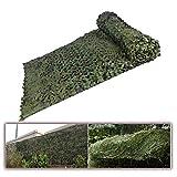 LYBC Red De Camuflaje para Protección Solar,Camuflaje,jardín,Camping, Caza Malla De Camuflaje Militar 1.5x2M,2x4M,5x6M,7x8M,8x10M Toldos Carpas