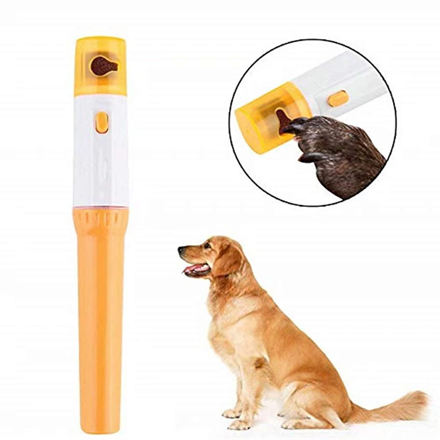 TMROW Nail Grinder for Dogs, Mini Electric pet Nail Clippers pet Nail Grinder and Trimmer pet Pedicure