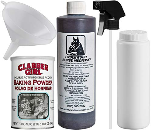 Underwood Horse Medicine 16oz Spray Kit (Horse Wound Topical Wound Spray Bundle)
