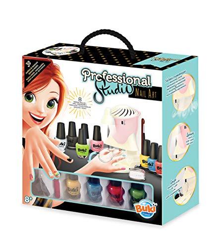 Buki France- Professional Studio Nail Art Juego Salón de Manicura, Multicolor (5404) ,...