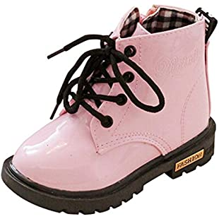 for 0-3 Years Old,Bestop Fashion Infant Baby Girls Boys Non-Slip Waterproof Sneaker Warm Martin Boots Shoes Fashion Boys Girls Martin Sneaker Winter Thick Snow Baby Casual Shoess (4.5, Pink):Seks-irani