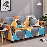 WXQY Sala de Estar Cubierta de sofá elástica con Todo Incluido Funda de sofá de celosía elástica Funda de sofá de sofá Inferior A29 2 plazas