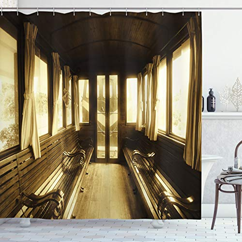 cortinas salon vintage