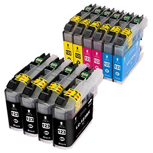 ESMOnline 10 komp. Druckerpatronen (4 Farben) für Brother MFC J245 J870DW J4410DW J4510DW J4610DW J470DW J4710DW J650DW J6520DW J6720DW J6920DW DCP J132W J152W J4110DW J552DW J752DW