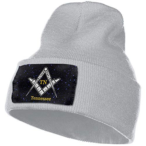 Sombrero de Punto Unisex Gorro de Calavera de Moda Sombreros de Tejer - Masón de Tennessee