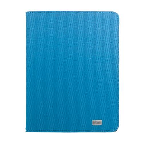 iHome Type Series: Type Swivel Bluetooth Keyboard Case for iPad 2/3/4, Blue