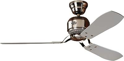 Hunter Industrie II Ventilateur en chrome brossé