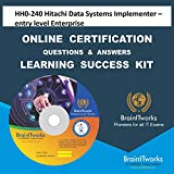 HH0-240 Hitachi Data Systems Implementer – entry level Enterprise Online Certification Video Learning Made Easy