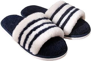 [QIFENGDIANZI] ルームシューズ スリッパ レディース メンズ シンプル もこもこ おしゃれ 洗える あったか 滑り止め 男女兼用 春秋冬 防寒 抗菌 防音 脱ぎ履きやすい 冷え対策 北欧 冬小物 室内履き 来客用