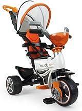 INJUSA Triciclo Body MAX Naranja para Bebés a Partir de 10 Meses con Control Parental de Dirección, Color (3254)