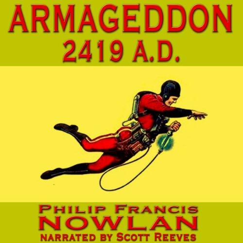 Armageddon 2419 A.D. audiobook cover art