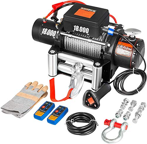 VEVOR Truck Winch 18000Ibs Electric Winch...