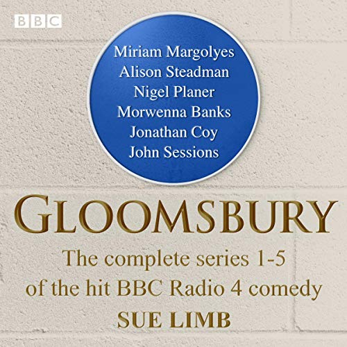 Gloomsbury audiobook cover art
