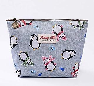 Zhicaikeji Sac cosmétique mignon, sac cosmétique motif animal mignon, sac à main créatif imperméable à l'eau, sac de range...