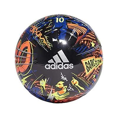 adidas mens Messi Club Ball Team Royal Blue/Black/Solar Yellow/Solar Red 5