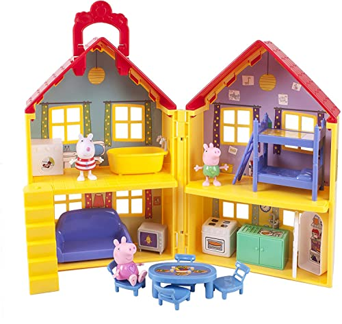 Peppa Pig's House Playset, 17 Pieces - Includes...