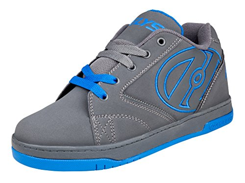 Heelys Unisex-Kinder Propel 2.0 (770508) Sport & Outdoorschuhe, Grau (Grey / Royal), 35 EU