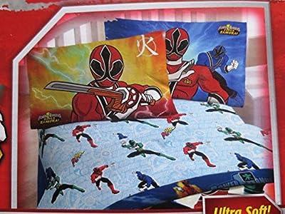power rangers super samurai twin sheet set kids 39 teen furniture