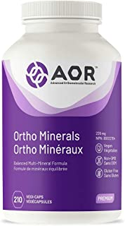Ortho Minerals (210 Capsules) Brand: A.O.R Advanced Orthomolecular Research