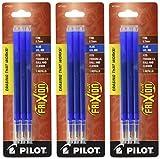 Pilot Gel Refills with Blue Ink for FriXion Erasable Fine Point Gel Pens - Pack of 9 erasable pens Oct, 2020