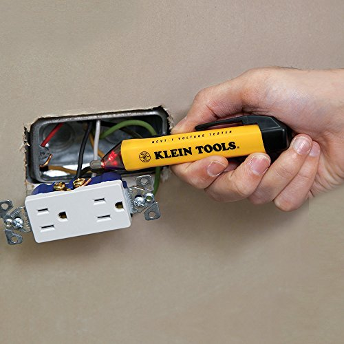 Klein Tools 69149 Electrical Test Kit with Multimeter, Non-Contact Voltage Tester and Receptacle Outlet Tester