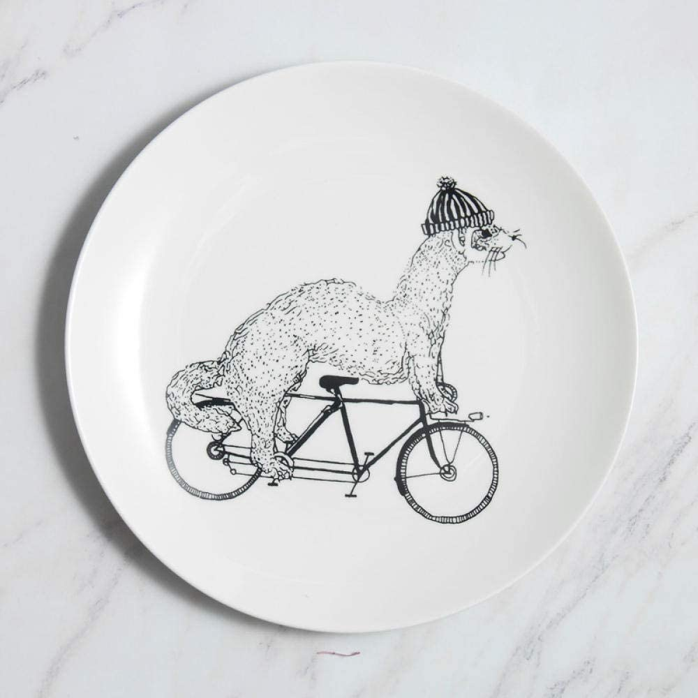 Ceramic Plate Nippon regular agency 8 Inch Plates Cartoon Our shop OFFers the best service Porcela Dinner
