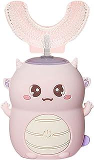 Elektryczna szczoteczka do zębów dla dzieci 360 ° Czyszczenie IPX7 Wodoodporny ładny kształt silikonowa główka szczoteczki...