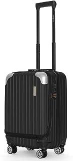 スーツケース【Sサイズ1~3泊に最適 36L 3.2kg JOYWAY 軽量 キャリーバッグ キャリーケース 旅行バッグ TSAロック TTL-006-ブラック