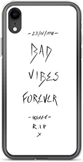 iPhone XR Pure Clear Case Cases Cover Bad Vibes Forever - Xxxtentacion