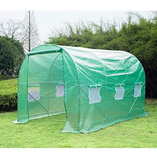 Invernadero caseta verde 350 x 200 x 200cm Outsunny