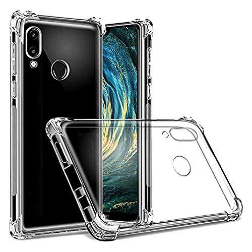 - Funda Anti-Shock Gel Transparente para Huawei P20 Lite/Nova 3E, Ultra Fina 0,33mm, Esquinas Reforzadas, Silicona TPU de Alta Resistencia y Flexibilidad