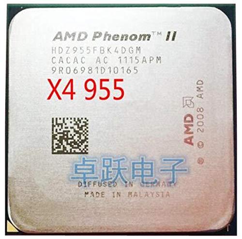 Phenom II X4 955 CPU Processor Quad-Core (3.2Ghz/6M /125W) Socket AM3 Working 100%