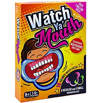 Watch Ya  Mouth Family Edition - The Authentic Hilarious Mouthguard Party Game