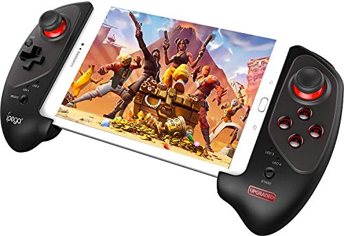 HQYXGS Red Bat Mobile Phone Tablet Computer Telescopic Gamepad,...