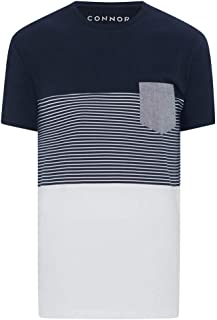 Connor Men's Freeman Crew Tee Regular T-Shirts Casual Tops Sizes XS-3XL Affordable Quality with Great Value