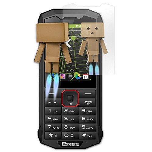 atFolix Bildschirmfolie kompatibel mit Crosscall Spider X4 Spiegelfolie, Spiegeleffekt FX Schutzfolie