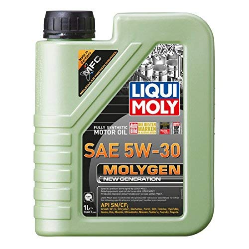 Liqui Moly 20226 Molygen New Generation 5W30 Motor Oil, 1 l, 1 Pack