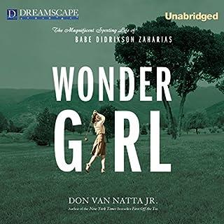 Wonder Girl audiobook cover art