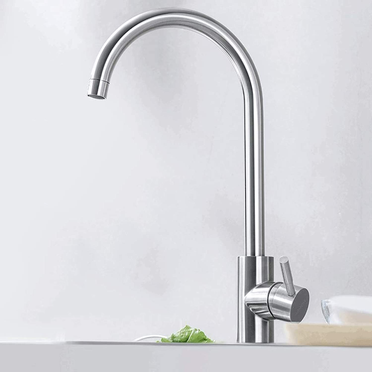 Ppigle Stainless steel faucet hot and cold kitchen sink splash-proof sink faucet