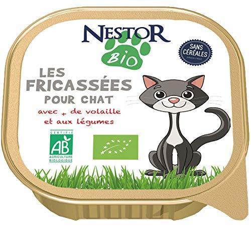 Nestor Bio - FRICASSÉES Bio pour Chat (17 x 100gr)