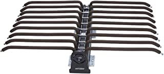 FKhanger Pull Out Pants Rack Extendable Wardrobe Trousers Rack Tie Holder Sliding Rail with Damper-18 Pairs