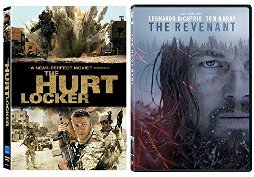 The Revenant DVD & Hurt Locker Oscar Movie Action Bundle Set