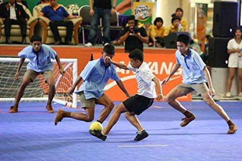 Sport Shoe Nanyang Takraw Futsal: Shoes Color: Black (Shoe size US 8,Euro 40)