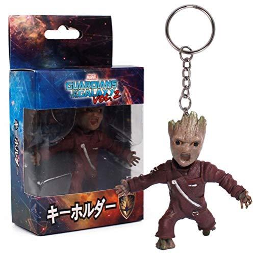 Les Gardiens de la Galaxie Vol.2 Baby Groot - Llavero con Figura de muñeca