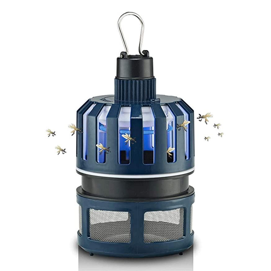 Rwkdjgfhi Mosquito Lamp Home Indoor Outdoor Light Plug Anti-Mosquito Bedroom Mosquito Repellent Mosquito Lamp (Color : -, Size : -)
