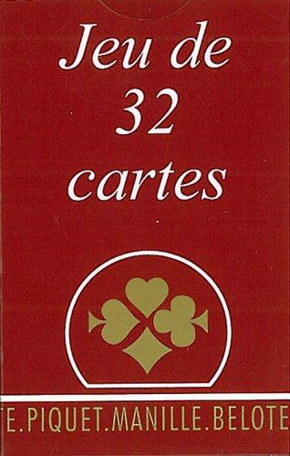 Jeu de cartes - La Gauloise Etui Carton - 32 Cartes