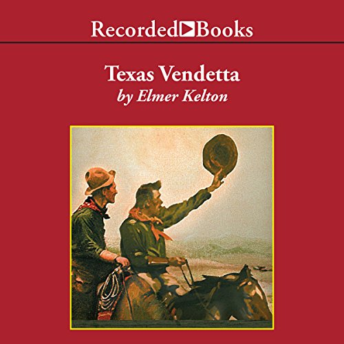 Texas Vendetta audiobook cover art